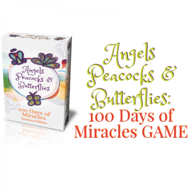 Angels, Peacocks & Butterflies - 100 Days of Miracles!