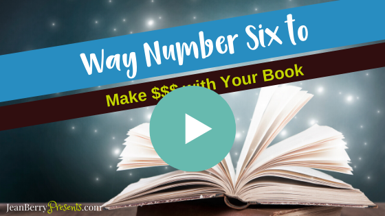 Way 6 to Monetize Book