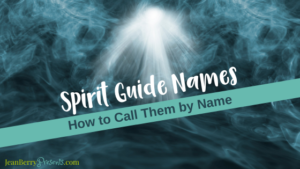 Spirit Guides Name blog