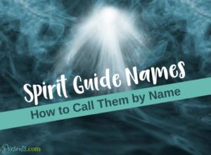 Spirit Guides Name blog