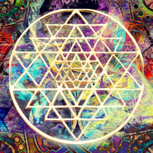 Marketing buzz with energy, sacred geometry